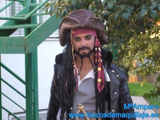 Maquillaje de pirata paso a paso: Jack Sparrow | Carnaval 2021