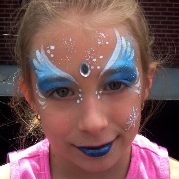 Maquillaje infantil de princesa Carnaval 2015