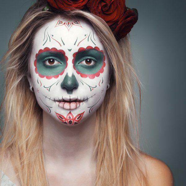 maquillaje-halloween-trucos-2014-maquillaje-calavera-mexicana