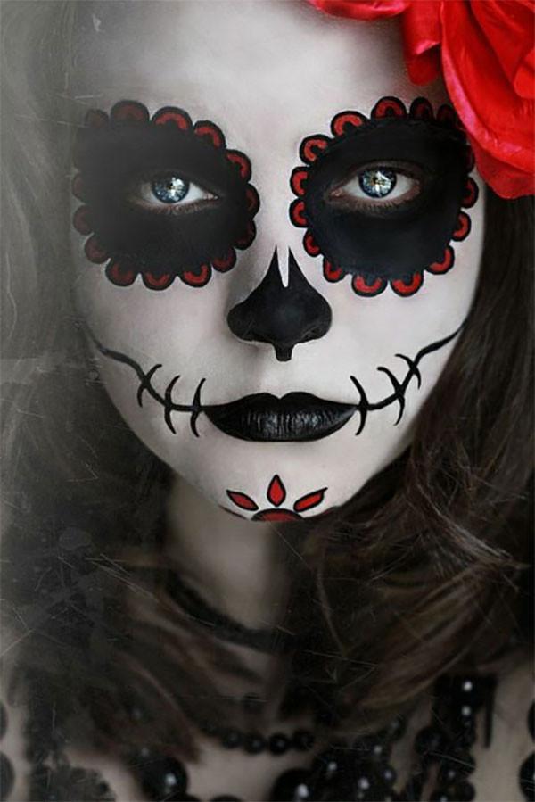 Otras ideas para el maquillaje Halloween Muerte 2015-calavera-mexicana