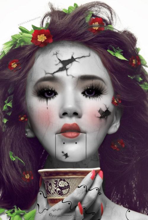 video-maquillaje-para-disfrazarse-de-muneca-LAGRIMA