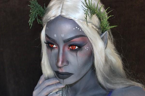 maquillaje-de-duende-para-carnaval-2016-maquillaje-de-mujer-plateado