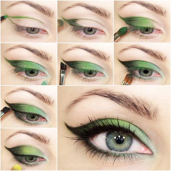 Maquillaje de hada verde Carnaval 2021