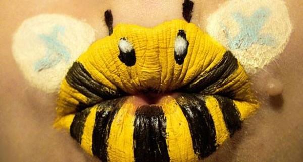 maquillaje-para-disfraz-de-abeja-halloween-2015-labios