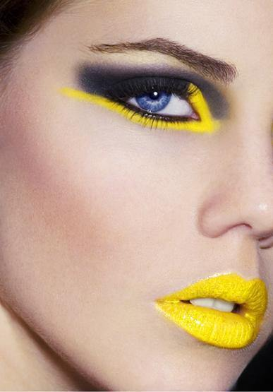 maquillaje-para-disfraz-de-abeja-carnaval-2016-labios-amarillos