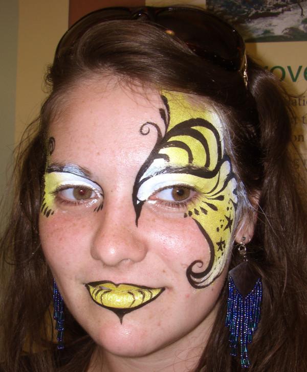 maquillaje-de-abeja-para-carnaval-2016-maquillaje-de-fantasia