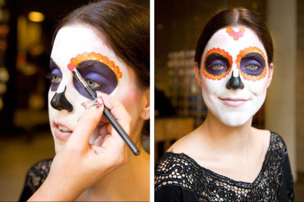 maquillaje-de-esqueleto-para-carnaval-2016-calavera-mexicana-petalos-de-los-ojos