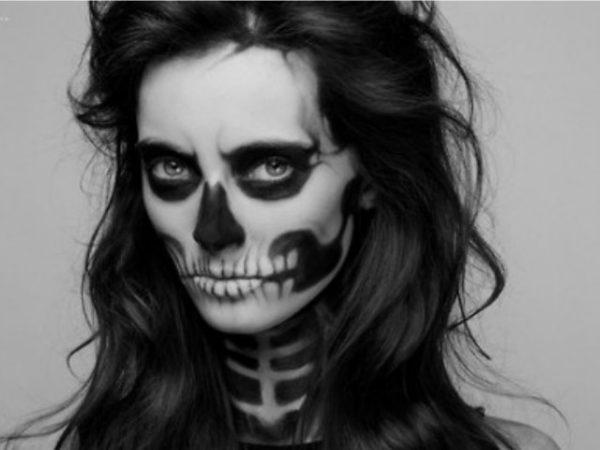 maquillaje-halloween-muerte-calavera