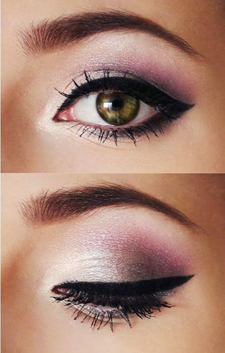 maquillaje ojos verde