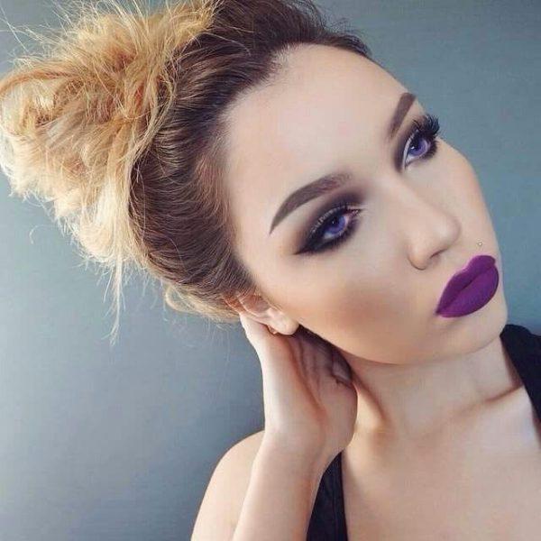tendencias-maquillaje-san-valentin-labios-lilas