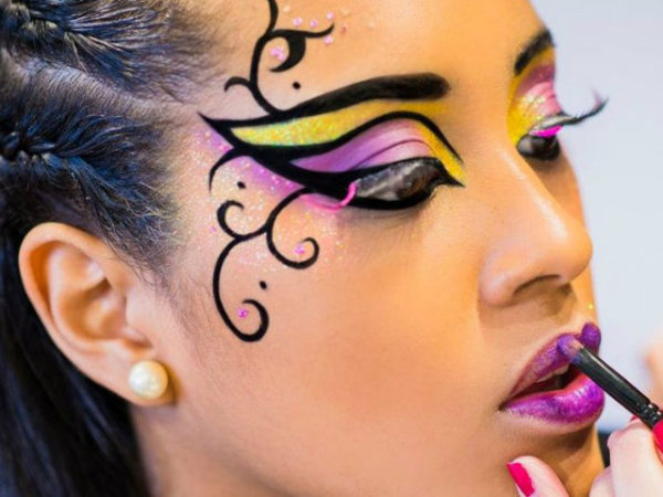 maquillaje-abeja-halloween-2016-fantasia