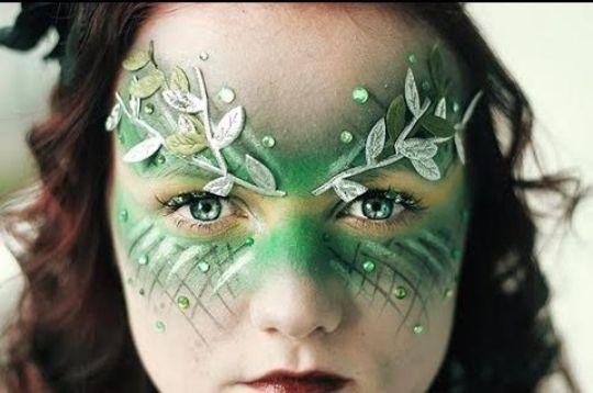 maquillaje-de-hada-verde-halloween-2016-accesorios