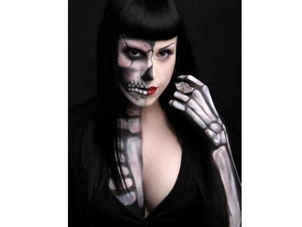 maquillaje-halloween-esqueleto-mitad-si-mitad-no
