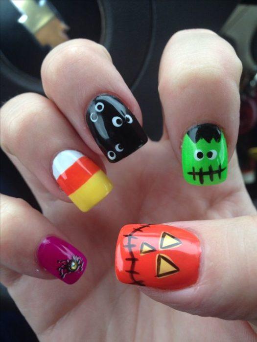 unas-halloween-divertidas-colores