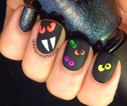 unas-halloween-divertidas-ojos