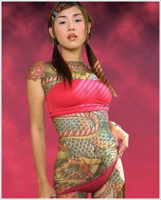 tatuajes-de-dragones-vientre
