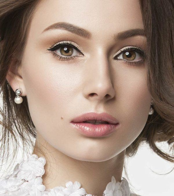 Maquillajes para unos ojos caidos maquillaje natural labial rosa