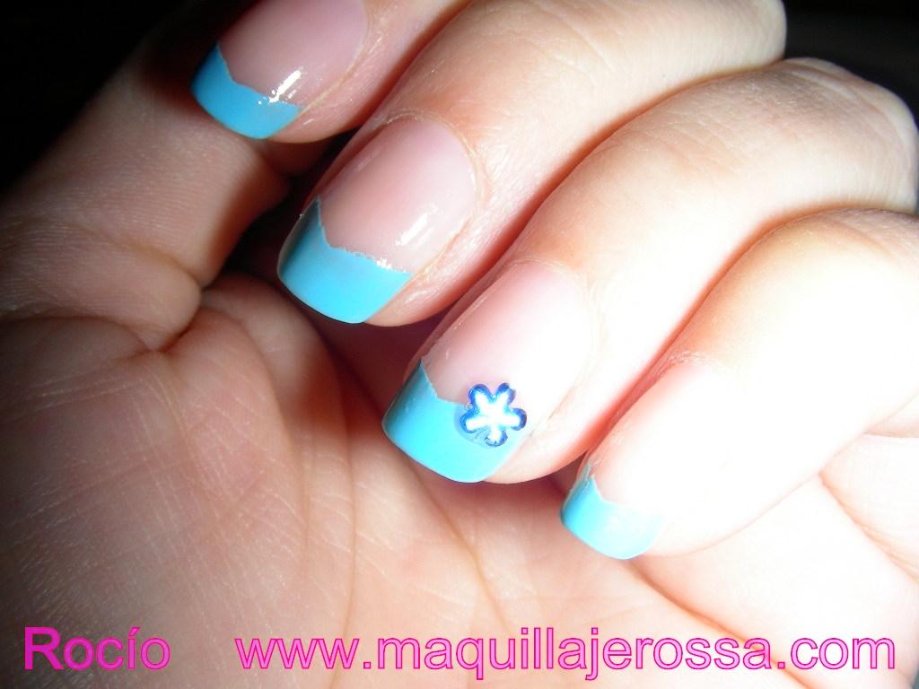 U as en tonos azules paso a paso maquillajerossa - Pintar con acrilicos paso a paso ...