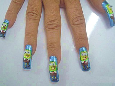 nail-art-bob-esponja