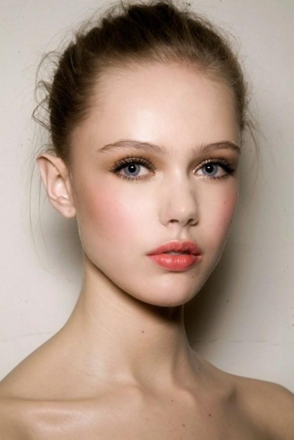 maquillaje dulce novia