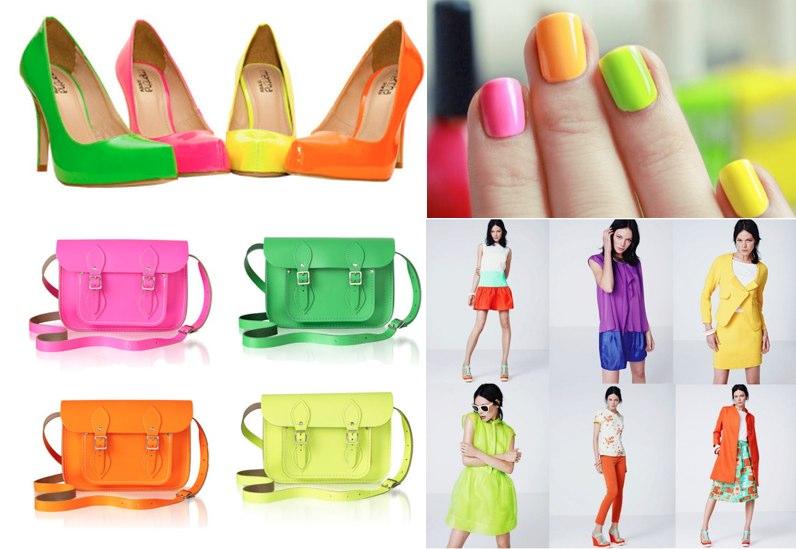 moda colores neon