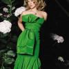 Cómo combinar el maquillaje con un vestido verde