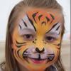 Maquillaje infantil para Halloween 2014