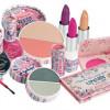 Maquillaje en tonos rosas I, paso a paso
