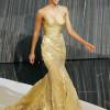 Maquillajes para vestidos dorados o bronces