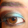 Look turquesa con la paleta Enchanted Glamourland