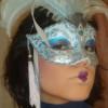 Maquillaje para acompañar máscara veneciana