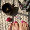 Tendencias estilos uñas de los pies 2014