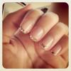 La decoración de uñas para novias 2014