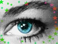 Iluminar y agrandar los ojos