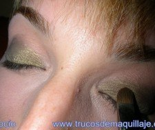 Maquillaje en bronce paso a paso
