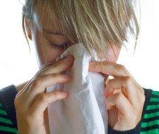 Maquillaje para disimular el resfriado