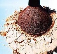 Truco para la rotura del maquillaje en polvo