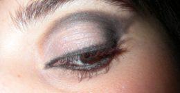 Maquillaje de Fiesta IX, Ojos en Blanco y Negro paso a paso