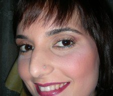 Maquillaje con pigmentos M.A.C en tonos marrones