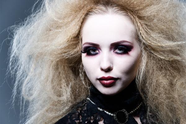 Maquillaje de Vampiresa Halloween 2015