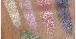 Swatches (Chuaches) o muestras de maquillaje