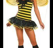 Maquillaje para disfrazarse de abeja en Halloween 2017