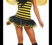 Maquillaje para disfrazarse de abeja en Carnaval 2015