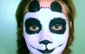 Maquillaje para niños Carnaval 2015: Oso panda