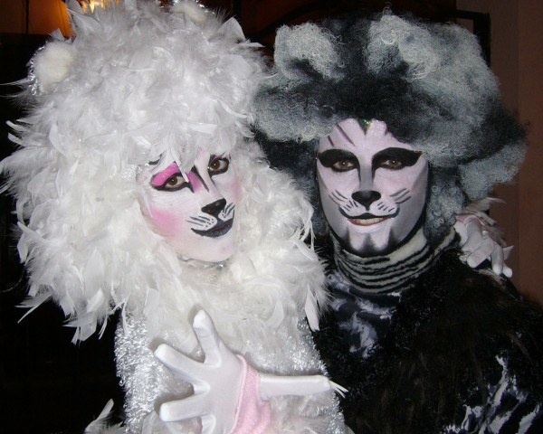 Maquillaje del musical Cats para Carnaval 2015