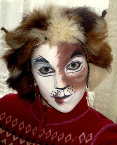 Maquillaje del musical Cats para Carnaval 2015