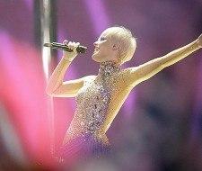 El maquillaje de Soraya Arnelas en Eurovisión