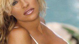 El maquillaje de Pamela Anderson
