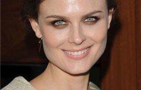 Emily Deschanel y su maquillaje