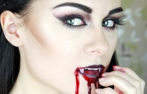 Maquillaje de Vampiresa Halloween 2015, paso a paso